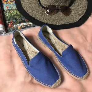 Soludos Espadrilles Shoes blue Size 9